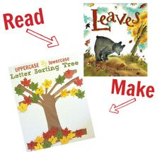 Fall picture books with crafts to match - over 20 awesome pairings!