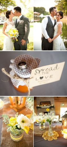 southern charm wedding ideas with burlap | ... yellow spring plantation wedding 2, real weddings ideas and trends
