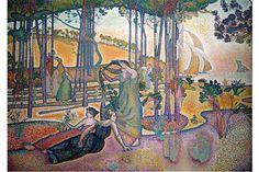 Pointillism Art Movement And Its Most Inspiring Artists | Widewalls Oil On Canvas, Canvas Art, Henri Matisse, Matisse Art, Tile Art, Art Google, Oeuvre D'art, Wall Art Prints, Poster Prints