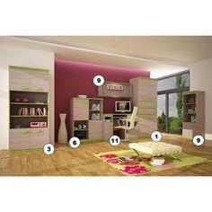 Childrens/Kids Bedroom/Playroom Furniture Set Bed, Wardrobe,ect KLAUDIO | eBay