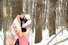 engagement photos winter - Google Search