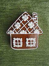 Dekorácie - Medovníkový domček malý - 4834099_