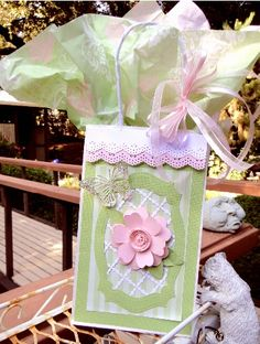Bag for birthday Roses card by jasonw1 - Cards and Paper Crafts at Splitcoaststampers