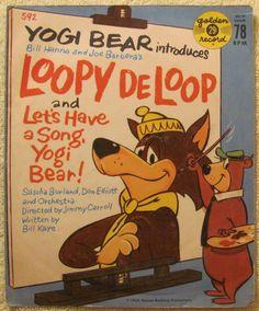 Sascha Burland, Don Elliott And His Orchestra - Yogi Bear Introduces Loopy De Loop / Let's Have A Song, Yogi Bear! (Vinyl) at Discogs
