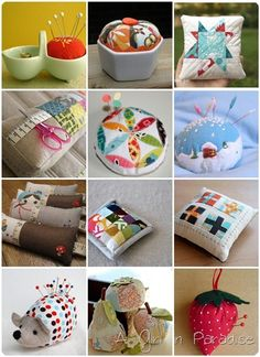 Would love to add some of these to my pincushion collection...