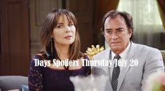 Days of Our Lives Spoilers: Thursday, July 20 – Kate and Andre Face Off – Dario Targeted – JJ Warns Chad – Celeb Dirty Laundry