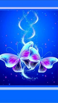 By Artist Unknown. Phone Screen Wallpaper, Flower Phone Wallpaper, Butterfly Wallpaper, Butterfly Flowers, Cellphone Wallpaper, New Wallpaper, Wallpaper Backgrounds, Beautiful Butterfly Pictures, Beautiful Butterflies