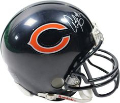 Alshon Jeffrey Signed Chicago Bears Mini Helmet (Schwartz Sports Auth)