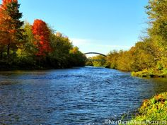 Houlton, Maine in the autumn. Northern Maine Pictures