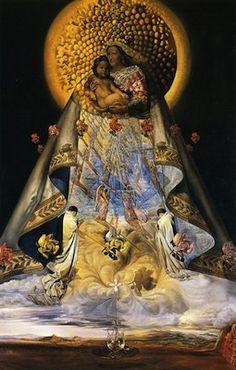 Art Peintures Salvador Dali - La vierge de Guadeloupe