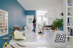 Eames Chairs und andere skandinavische Möbel im eigenen Wohnraum