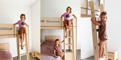 Amelia Fullerton's gorgeous Byron Bay home - shot x Pampa Nursery Room, Baby Room, Small Stuff, Byron Bay, Design Crafts, We The People, Bunk Beds, Amelia, Kids Room