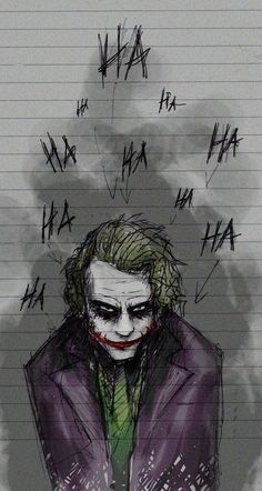 Art inspired by The Joker played by Heath Ledger in A Dark Knight Batman Comics, Le Joker Batman, Der Joker, Dc Comics, Batman Art, Joker And Harley Quinn, Batman Stuff, Gotham Batman, Batman Robin