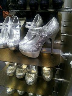 glitter highheels