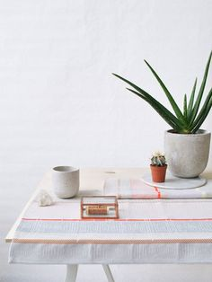 Textiles From The Amsterdam Studio of Mae Engelgeer