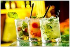 Receita, como fazer Drinks refrescantes para o Verão