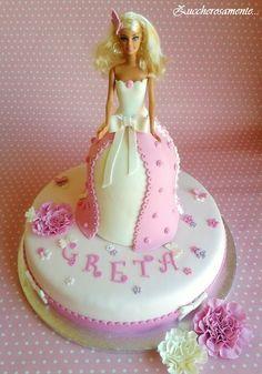Zuccherosamente...: Torta Barbie