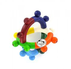 Motorikspielzeug, Greifling Kugel von HOBEA-Germany  #Baby #Holzspielzeug #Spielzeug #Greifling #Babyspielzeug #Babyspielwaren #Babygeschenk #Holzgreifling #HOBEA #Glöckchen #wooden #toy #babypresent