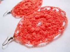 A beautifully textured circular motif that's amazing as earrings when crocheted in sewing thread. Try it with other yarns for a surprise!    The...