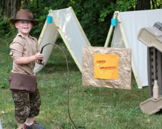 """Love the tents  Photo 2 of 25: Indiana Jones/Archaeology party / Birthday """"Indiana Jones/Archaeology party"""" 