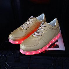 2017 Men Colorful glowing shoes with lights up led luminous shoes a new  simulation sole led shoes for adults neon casual led ccc6b1f34