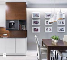Segment na Białołęce - Kuchnia, styl nowoczesny - zdjęcie od Iv Design dining room | kitchen | modern | inspiration | white | home | design