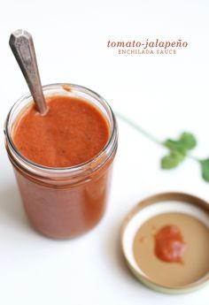 The Fauxmartha | Tomato-Jalapeno Enchilada Sauce | The Fauxmartha
