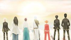 Be together - FA Gintama by hollowcoffin.deviantart.com on @DeviantArt