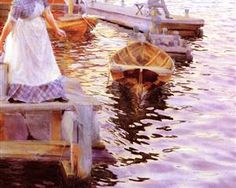 Lappings of the waves - Anders Zorn