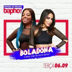 #VEJA The Pub: Bapho! Boladona #agenda @paroutudo via ParouTudo…