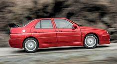 If we had to select the only Alfa Romeo project that had huge potential but never made it into production for a variety of reasons, we would put the 155 GTA Stradale prototype on the pedestal. Alfa Romeo 155, Under The Hammer, Martini Racing, Lancia Delta, Sports Sedan, The A Team, Racing Team, Gta, Bmw M3