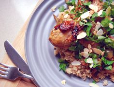My Lemon & Chicken Tagine recipe on the THR1VE blog