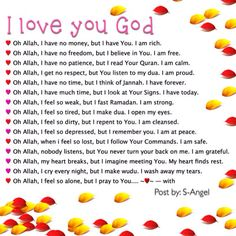 I Love you Allah❤️