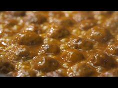 ¡Las MEJORES ALBONDIGAS en salsa del MUNDO! - YouTube Banana Bread, Chili, Beans, Food And Drink, Soup, Vegetables, Ethnic Recipes, Youtube, Videos