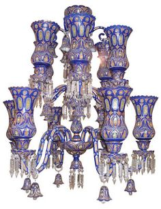 Islamic Glass Chandelier