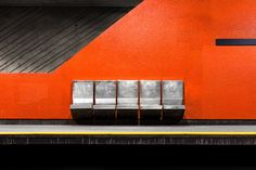 Montreal-based photographer Chris Forsyth has an obsession for architecture and metros. His series titled 'Montreal Metro' began in October of 2014 as an academic project,. Metro Montreal, Of Montreal, U Bahn Plan, U Bahn Station, Metro Subway, Exploration, Wallpaper Magazine, Minimalist Photography, Urban Photography
