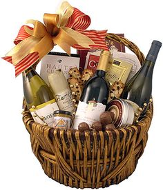 Classic Wine Trio Gourmet Gift Basket