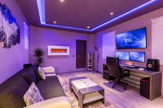 We like the idea of having colored led lighting like this that could be turned on if we want, but not have it be needed.