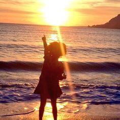enjoy the sunset Celestial, Sunset, Outdoor, Sunsets, Outdoors, Outdoor Living, Garden