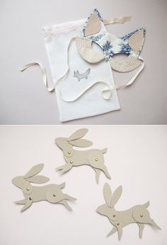 Toile animal mask!! !!!! !  from Eat Drink Chic