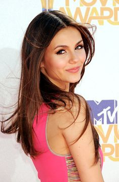 Victoria Justice. I saw her on tv and knew she was your 'type,' which btw I don't fit. You must really love me to break the mold.