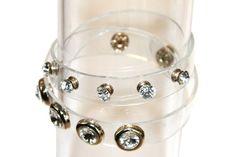Bracelet cristal fun PVC-Linoska  Un bracelet manchette PVC avec des magnifiques cristaux , Il est idéal pour des dîners et des soirées élégantes.  Découvrez tous les bijoux de la marque Linoska et les bijoux de la marque Lol Bijoux http://www.missgooddeal.fr/fr/linoska/26-bracelet-cristal-fun-pvc-linoska.html
