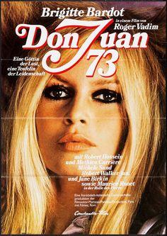 DON JUAN 73 - BOX OFFICE BRIGITTE BARDOT 1973