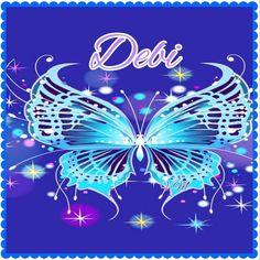 butterfly sparkles~Debi