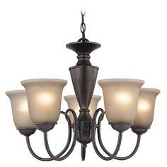 Cornerstone Lighting Greenville Oil Rubbed Bronze Chandelier   1605CH/10   Destination Lighting