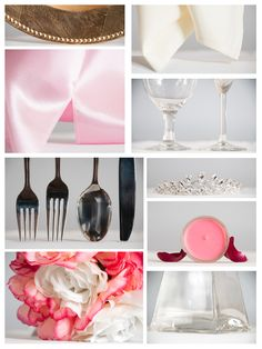 #Tablescape grid for #Princess Theme #wedding tablescape