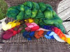 Erste Farbversuche in Oberrot
