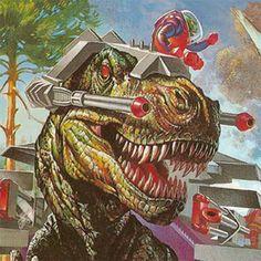 Dino Riders!!!