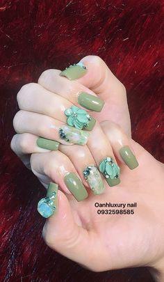 68 Ideas nails art floral beautiful for 2019 Nails & Co, Nails Now, 3d Nails, Love Nails, Swag Nails, Elegant Nails, Classy Nails, 3d Flower Nails, Zebra Print Nails