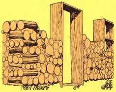Try some of these stackwood (cordwood) construction home tips. Originally published as